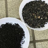 富士山の溶岩礫の種類