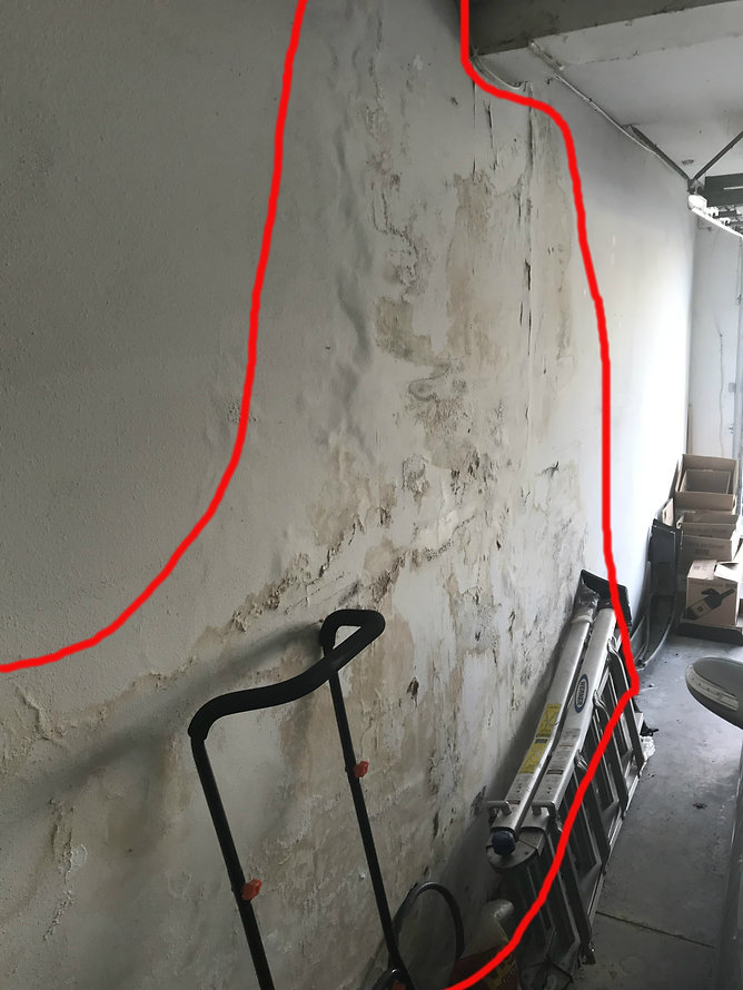 Besement_Water Intrusion_L.A. Structural