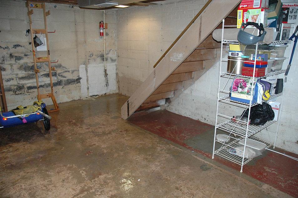flooded basement _LA STRUCTRAL-drainage.
