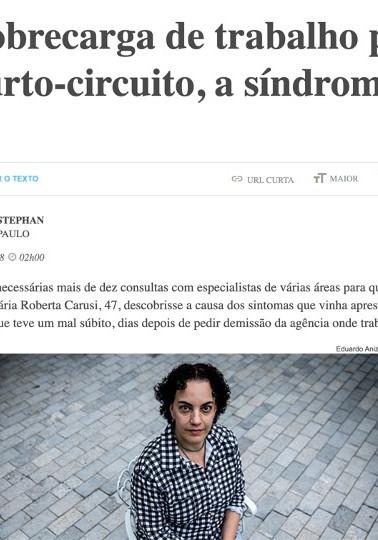 Entrevista: Folha de S. Paulo