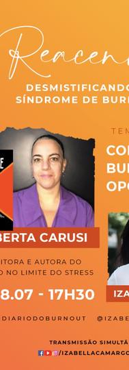 Live: Semana Reacenda com Izabella Camargo