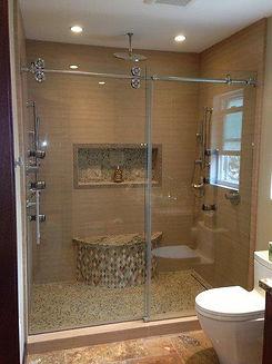 contemporary-showers-enclosure-denver-nc