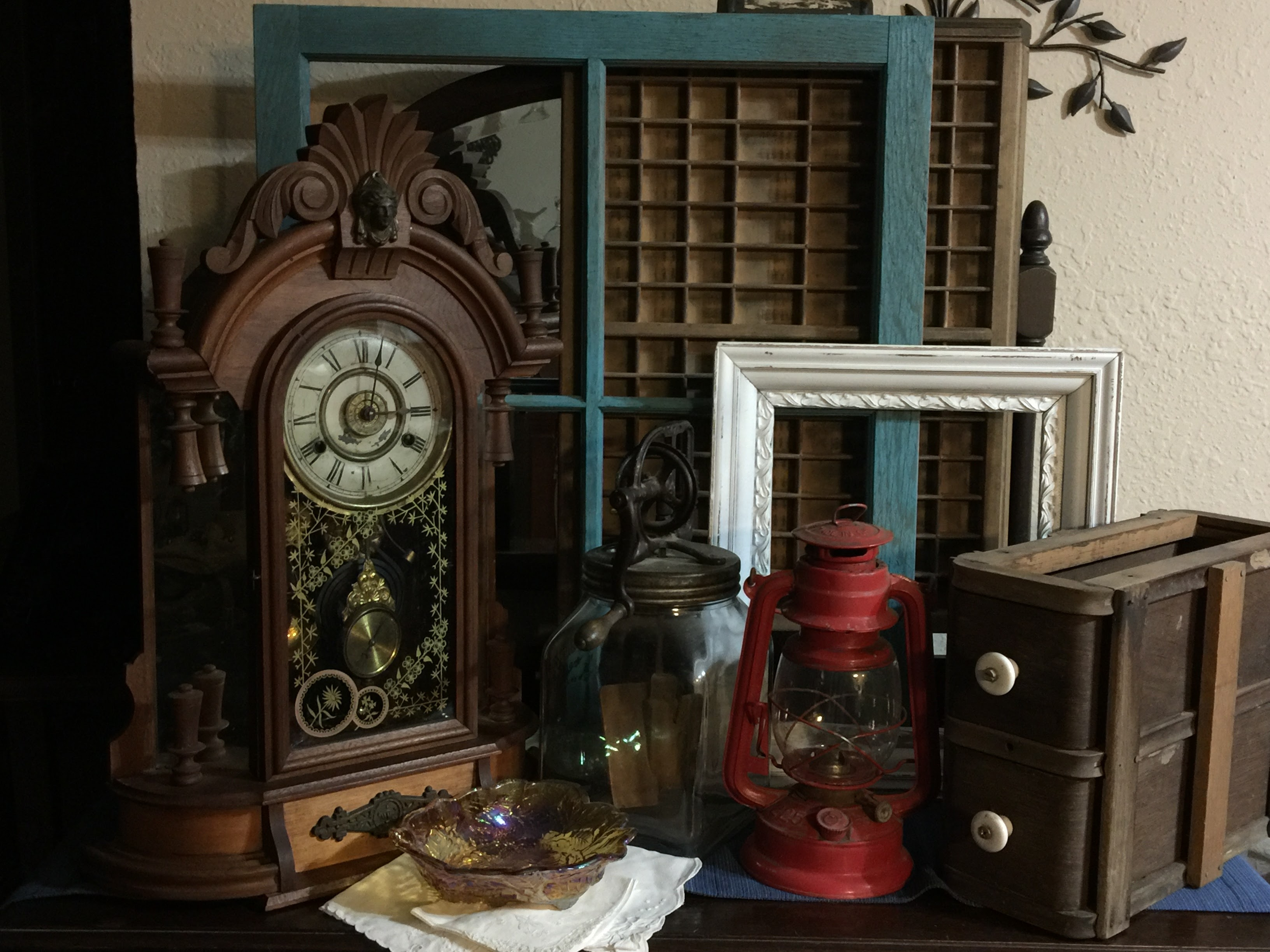 Antique decor collection