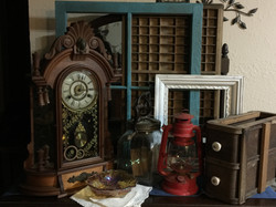 Antique decor collection