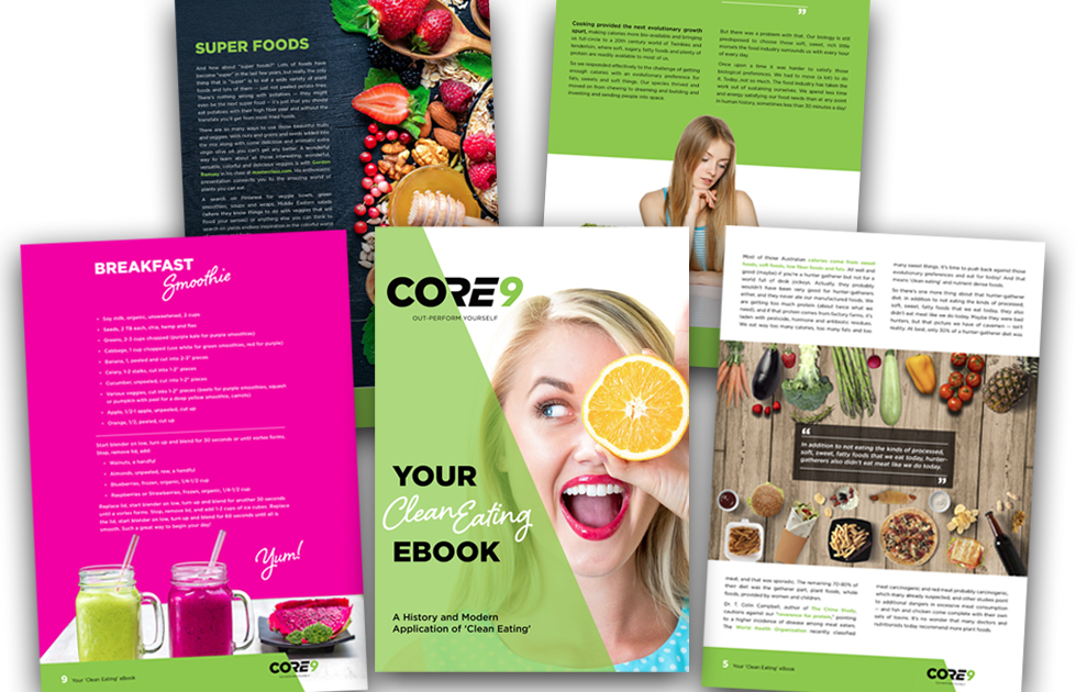 Core 9 Clean Eating e-book