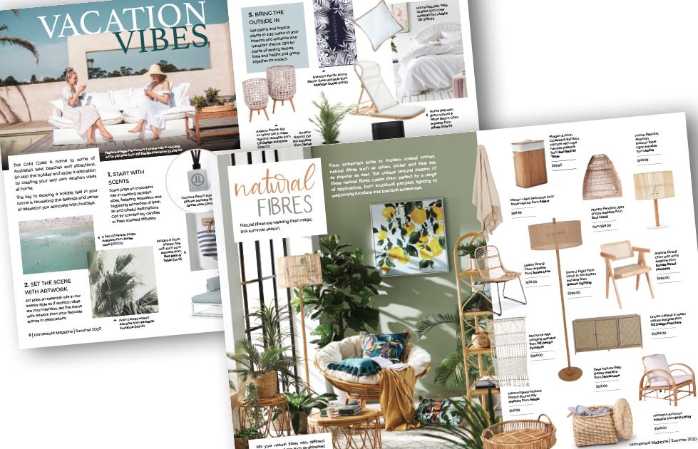 HomeWorld Magazine Summer.