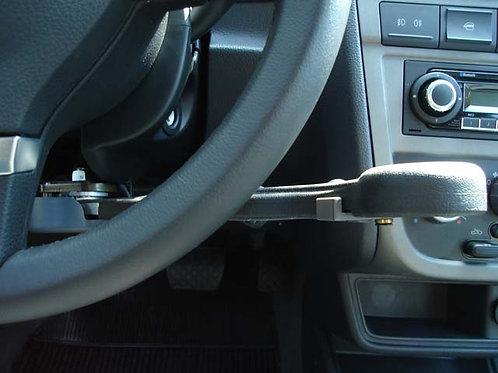 Alavanca de freio emborrachada (lado direito)