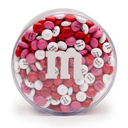 印相M&M巧克力 8OZ圓盒裝