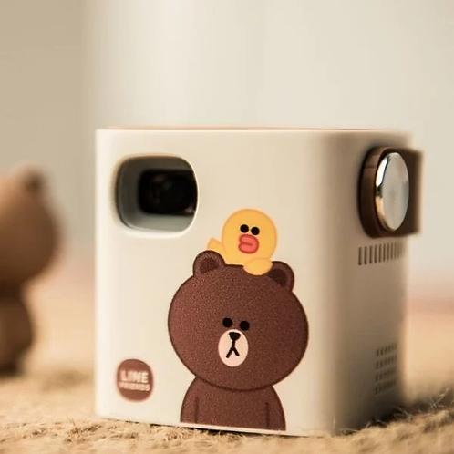 韓國Line Friends x Jellybeam迷你投影機