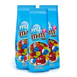 印相M&M巧克力 3包7OZ裝