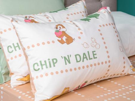 可愛 Disney 迪士尼 經典卡通角色 - Chip 'n(and)' Dale 大鼻同鋼牙被單