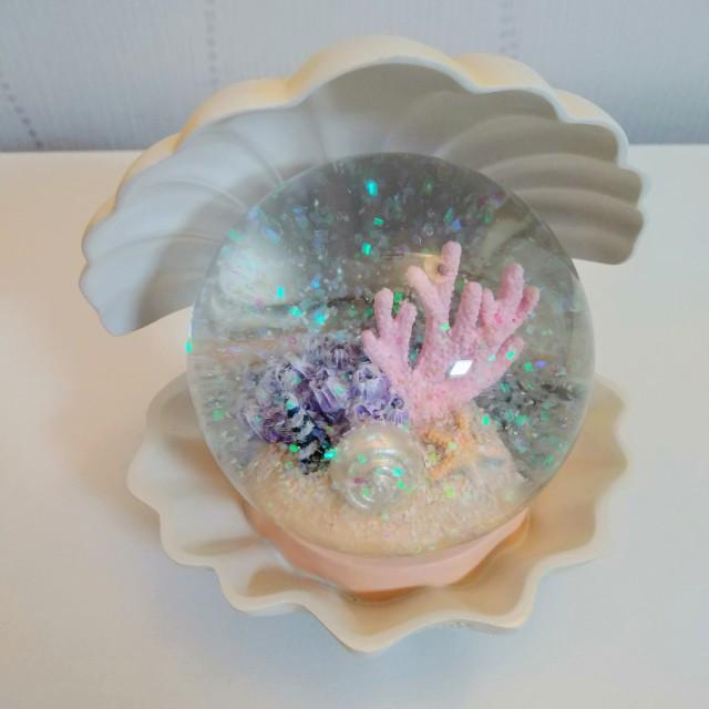 韓國濟州貝殼水晶球