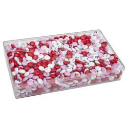 印相M&M巧克力 2鎊透明長盒裝
