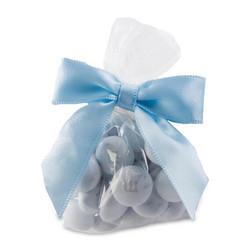 粉藍絲帶小包裝20袋