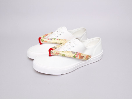 Whole Love Kyoto日式木屐設計的帆布鞋