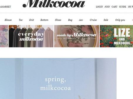 韓國milkcocoa衣服網站代購(香港)