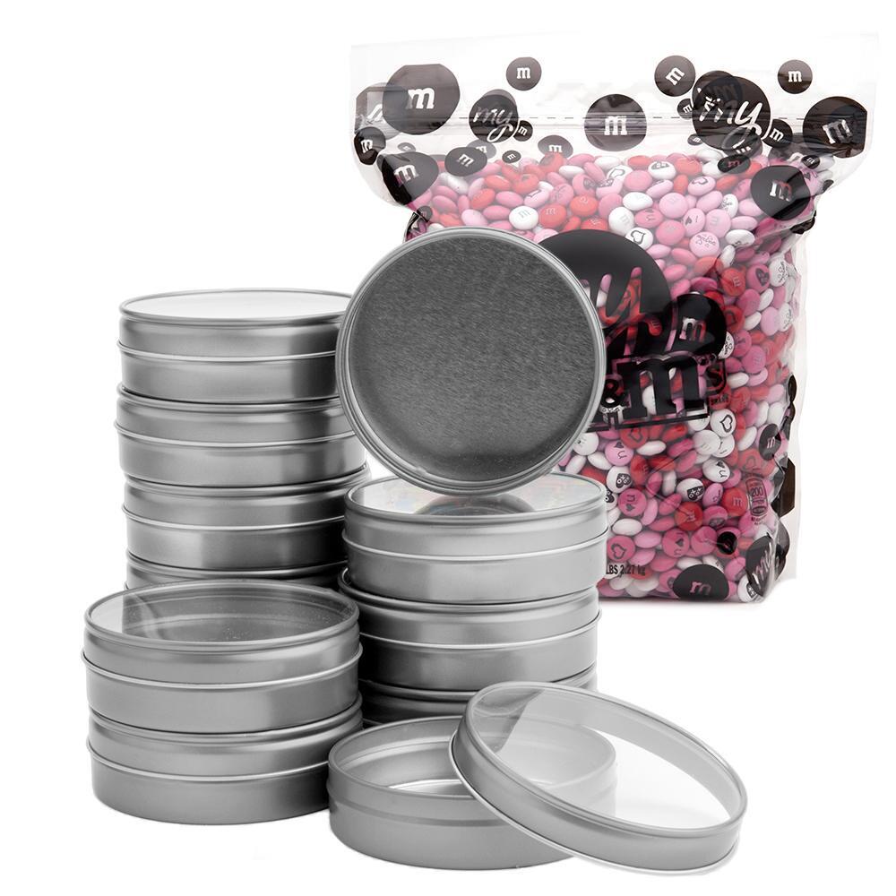 印相M&M巧克力 24銀盒套裝