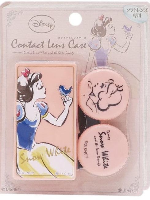 日本 迪士尼 Disney 小美人魚 仙履奇緣 白雪公主 隱形眼鏡盒