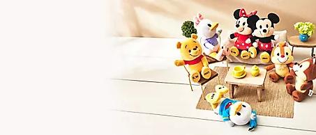 卡娜赫拉P助 「小熊維尼」迷因 T 恤 ❤客製專屬你的迪士尼 ❤日本《Disney》 刺繡重量娃娃(需3個月前預購) 維尼米奇 米妮 客製化玩偶 奇奇蒂蒂代購(香港)