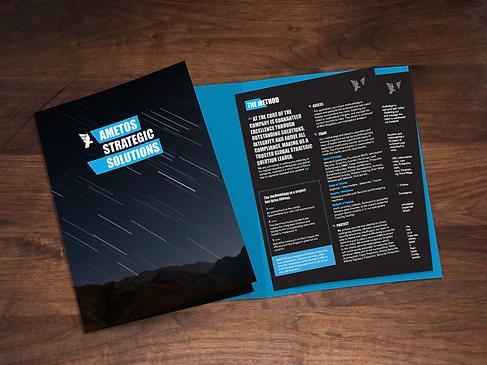Ametos Brochure and Folder