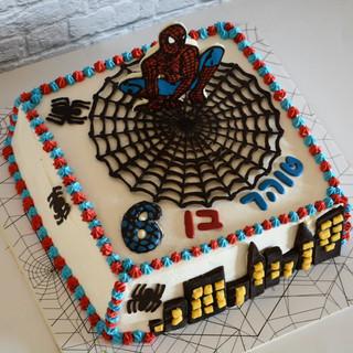 עוגת ספיידרמן טוהר