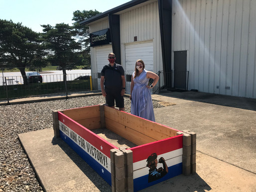 OLI Donates Raised Garden Beds to the Northern Illinois Food Bank in Rockford, IL