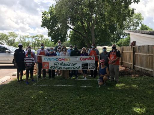OLI Donates Raised Garden Beds to Aurora Interfaith Food Pantry