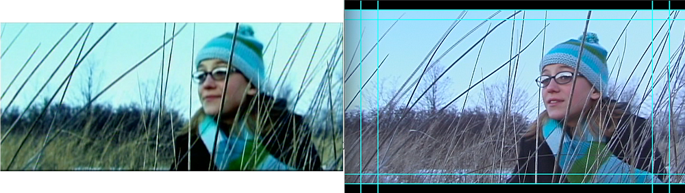Comparison still between the 2009 version and the 2020 Restoration.