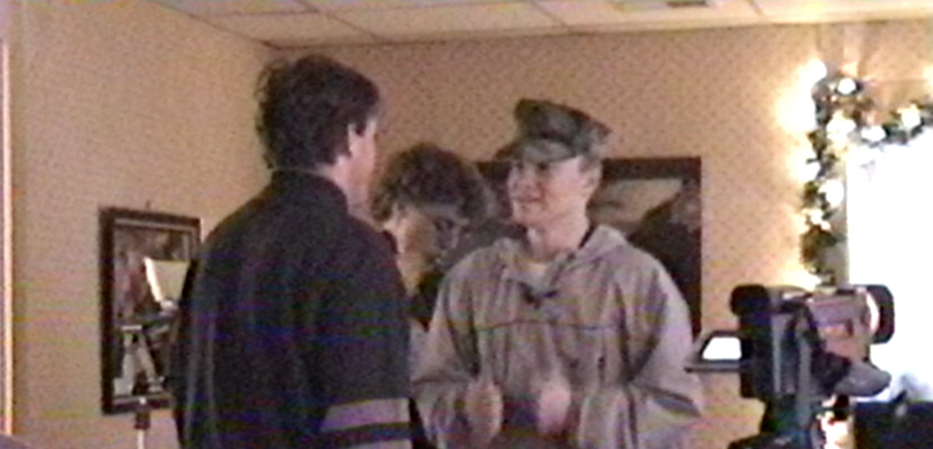 Eric Directing Sean