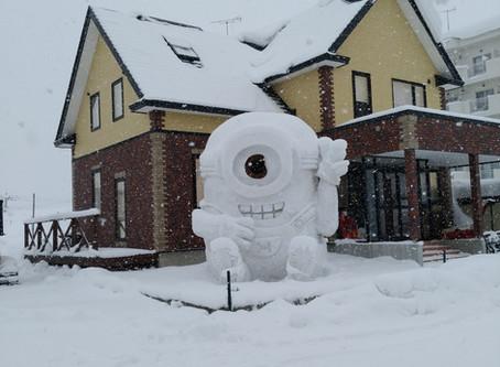 函館人もビックリの大雪!