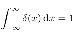 Integrating the Dirac delta function
