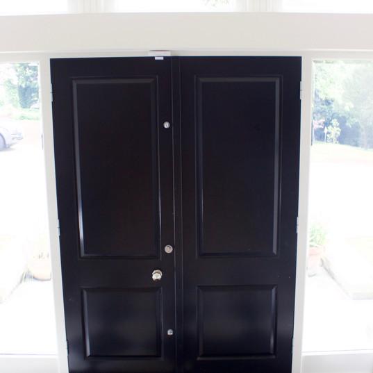 Raised & Fielded Three Panel Door