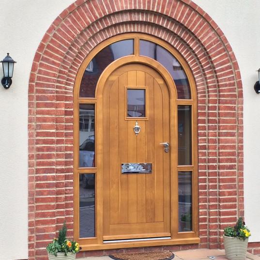 Oak door set