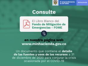Libro Blanco del FOME: un avance en transparencia sobre el uso de los recursos para la emergencia