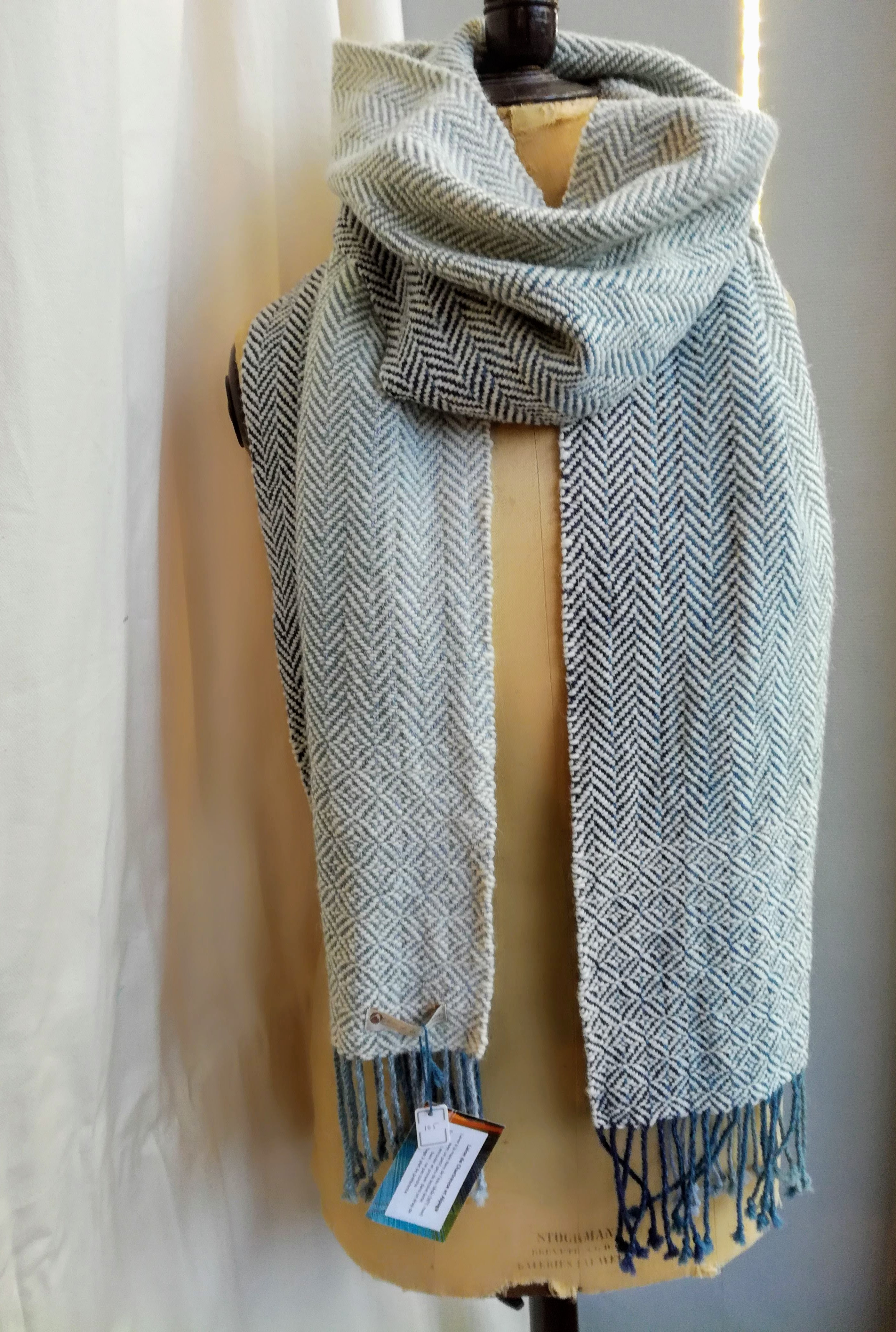 Echarpe laine et alpaga