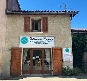 Belledonne Piquage extérieur boutique