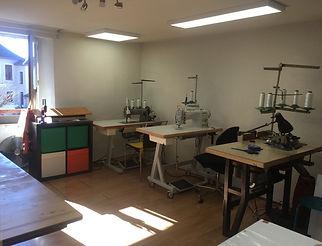 Atelier machines industrielles