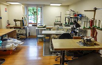 Atelier de couture machines industrielles