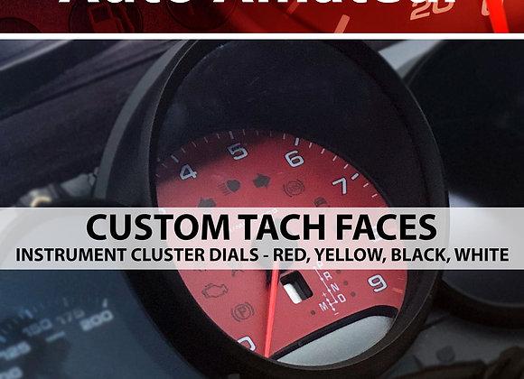 Custom Instrument Cluster Faces for Porsche 991, 981