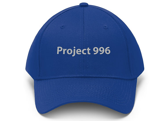 'Project 996' Unisex Twill Cap