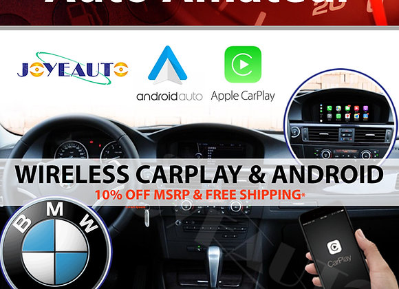 BMW Apple CarPlay (Wireless) & Android Auto for BMW