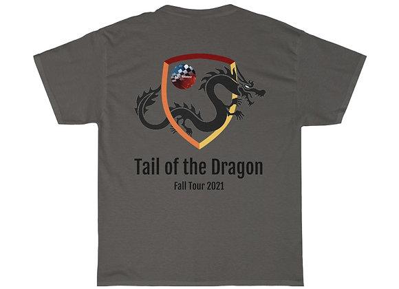 AutoAmateur 'Tail of the Dragon 2021 Fall Tour' T-Shirt (Design on back)