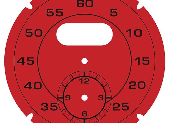 Custom Sports Chrono Clock Gauge Faces for Porsche 911, 958, 970, 981/982/718
