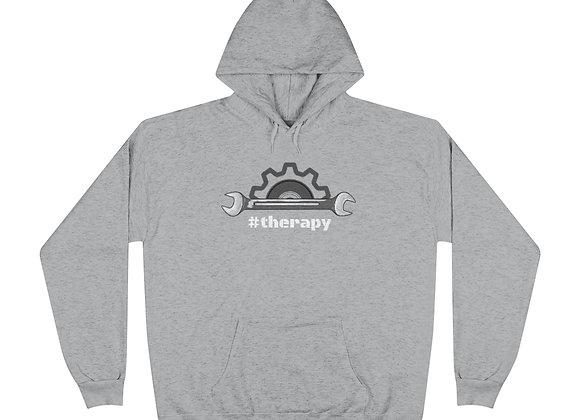 '#Therapy' EcoSmart® Pullover Hoodie Sweatshirt