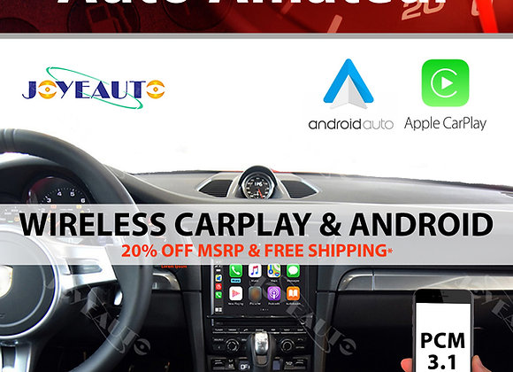 Porsche PCM 3.1 Apple CarPlay & Android Auto (Wireless)