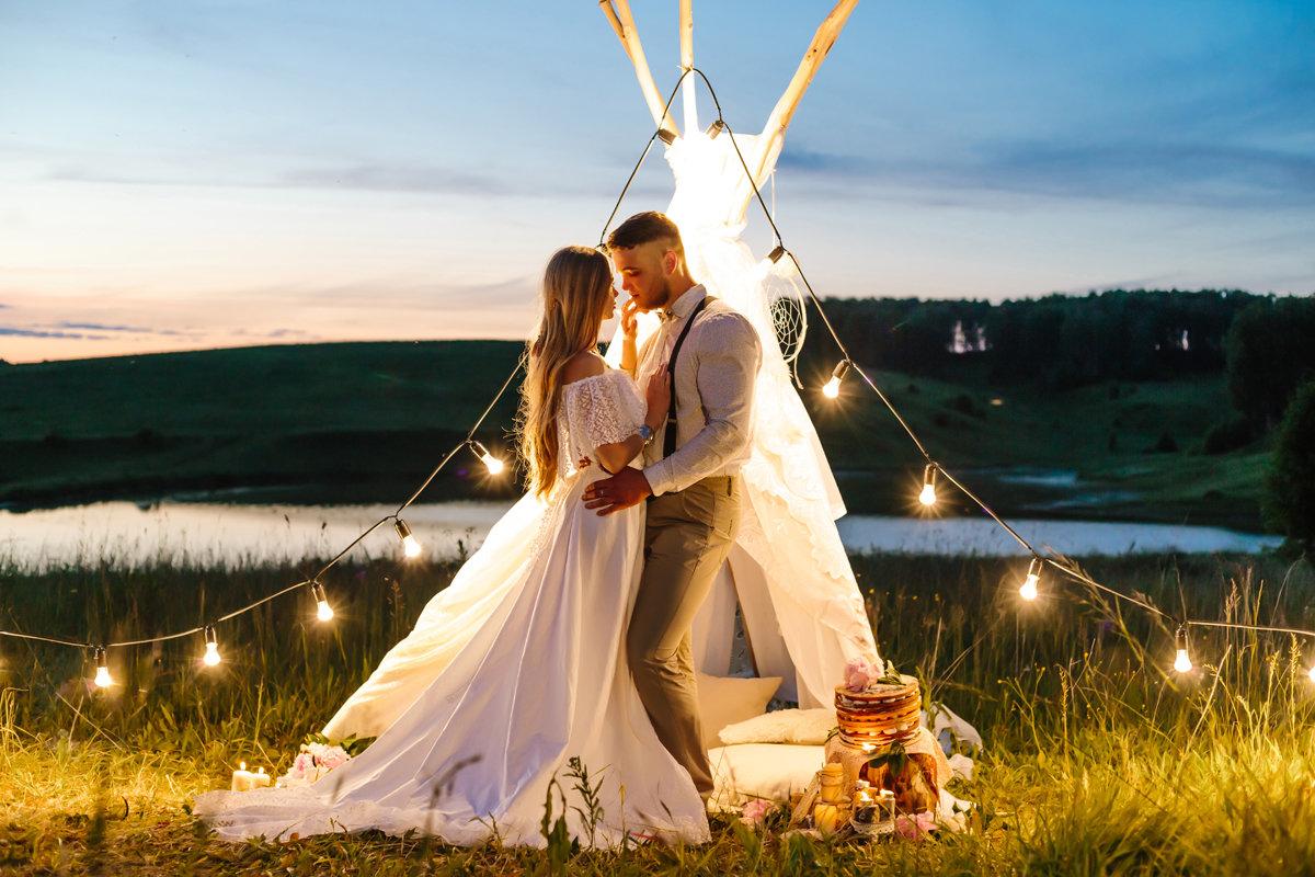 Свадьба на озере - в Fenix