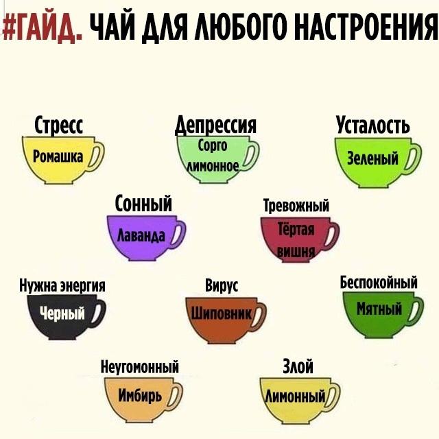 Гайд: Чай для любой ситуации
