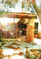 Мангал-бар в парк-отеле Fenix