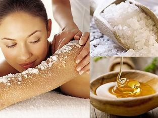Процедура_ минеральная соль с медом