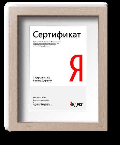 «СПЕЦИАЛИСТ ЯНДЕКС.ДИРЕКТ» от Университета Удаленной работы Яндекс